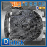 Didtek flangeou válvula de esfera elevada do eixo de Preesure
