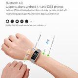 Imperméable IP68 Bracelet Sport Bt4.0 intelligente Smart regarder avec Bluetooth et 120mAh Batterie