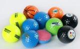 عالة رسم متحرّك علامة تجاريّة زاهية لعبة غولف ممارسة كرة