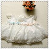 Cpsia Stanardの方法赤ん坊は6か月の赤ん坊のためのパーティー向きのドレスに着せる
