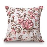 Pays de fleurs de style maison Housse de coussin décoratif pour Sofa (35C0238)