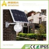 9W 12W 18W integrado LED solar al aire libre Jardín de luz de la calle con sensor de movimiento
