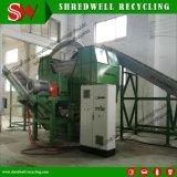 기계를 재생하는 가장 큰 국내 두 배 샤프트 낭비 또는 작은 조각 또는 사용된 타이어