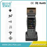 explorador Handheld llano industrial del código de barras del móvil PDA de la pantalla táctil con la impresora NFC