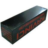 Caixa de papel longa de cartão ondulado do preço barato com impressão preta vermelha
