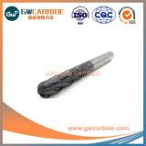 laminatoi di estremità di Ballnose del carburo di tungsteno 1.0X3X50HRC45-50