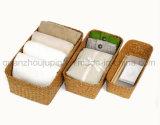La paglia domestica dell'OEM copre il cestino di memoria della frutta del regalo