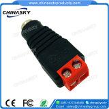 Connecteur d'alimentation CC de vidéosurveillance avec borne à vis rouge (PC101RD)
