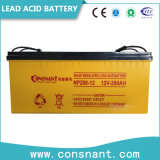 12 batteria al piombo della carica di tensione di V 100ah