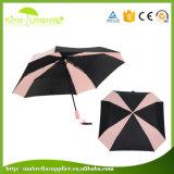 골프 클럽을%s 정연한 모양 두 배 닫집 무지개 골프 우산