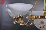 Moderner Decken-Luxuxanhänger mit bereiftes Glas-Farbtönen