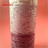 Tres velas altas rústicas rosadas del pilar de las capas para el mercado de gama alta
