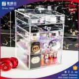 La vanité Effacer l'organisateur de maquillage en acrylique 6 tiroirs