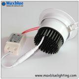 La caja de 18W Blanco/Epistar LED CREE COB Luz abajo