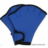 Les gants palmés de bain de sphère surfant la natation folâtre la palette formant les gants Fingerless
