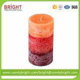 2018 velas perfumadas decorativas superventas del pilar con ISO 9001