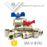 Латунной резьбовой конец баланс клапана (EM-V-B192)