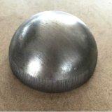 """Roestvrij staal 304 Halve Bal 36 het """" Holle Halve Gebied van het Metaal van de Bal van het Staal met Ring of Opgepoetste Spiegel"""
