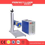 Передвижная машина принтера гравировки лазера случая для металла