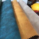 폴리에스테 청동색으로 만들기를 가진 뜨개질을 하는 직물 스웨드 직물