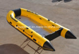 Liya Portable Dinghy Bateau Bateau de sauvetage gonflable Orange