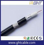Cavo RG6 di bianco di colore per CATV, il CCTV o i sistemi di Settelite