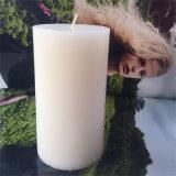 Superficie regolare della cera paraffinica della candela della colonna