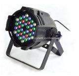 luz de interior de la IGUALDAD 64 del RGB LED del disco de la etapa 36X3w