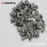Вставки цементированного карбида вольфрама паяемые поворачивая для режущего инструмента