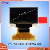 0,96 Visor OLED 128X64 Tela Painel Dots com IC1306 SSD