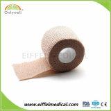 Fasciatura veterinaria coesiva promozionale superiore della garza del cotone