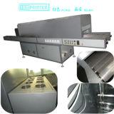 Forno a tunnel dell'essiccatore di IR di stampa dello schermo di imballaggio industriale