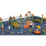 Kaiqi子供の遊園地(KQ60133A)のための上昇シリーズ屋外の運動場