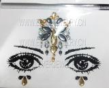 2018 Hot Sale Face stickers bijoux et le visage d'autocollants Gems