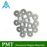 N40 D13xd (3.5-6.6) X90degx3mm Ring NdFeB magnetisches Material mit Neodym