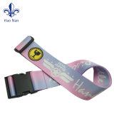 卸売のためのカスタム環境友好的な印刷された十字の荷物ベルトストラップ