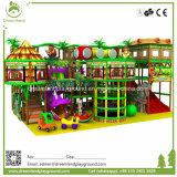 Kommerzielles kundenspezifisches Innenarchitektur-natürliches Dschungel-Land scherzt Innenspielplatz