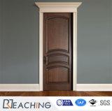 Elegante große festes Holz-Innentür mit Verschluss und Rahmen für Schlafzimmer