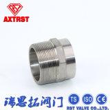 fabricante de las instalaciones de tuberías de la cuerda de rosca del acero inoxidable 304/316L
