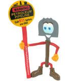 Mini heiße Spielwaren-Zeichentrickfilm-Figur-Abbildung Förderung