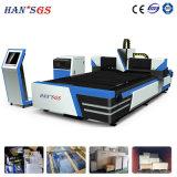 máquina de estaca IP54 do laser da fibra 1500W com sistema de controlo do CNC
