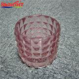 Funkelnde Glasglas-Kerzen für Verkauf