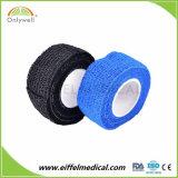 Медицинский клей штукатурка Non-Woven ткани ленты последовательной порванный жгут