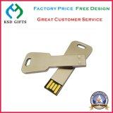 Печать/лазер гравирует привод вспышки USB логоса Stock вращая