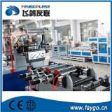 Processus de fabrication automatique en une étape de feuille de PVC
