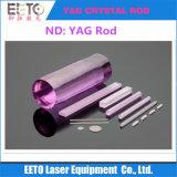 YAG Rod a cristallo per la marcatura della saldatura di taglio del laser 1064nm/532nm