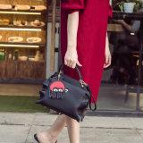 2018 de Nieuwe Brede Riem Pu van het Ontwerp Dame Shoulder Bag Handbag