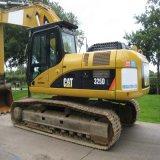 Le Japon a utilisé l'excavatrice utilisée par chenille hydraulique de tracteur à chenilles de l'excavatrice 325D