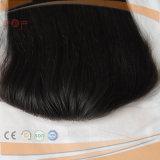Frontal superiore del merletto di colore non trattato dei capelli del Virgin (PPG-l-01660)