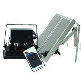 LED SMD com grau industrial Holofote Solar com controlo remoto RF / Luz de movimento PIR de segurança